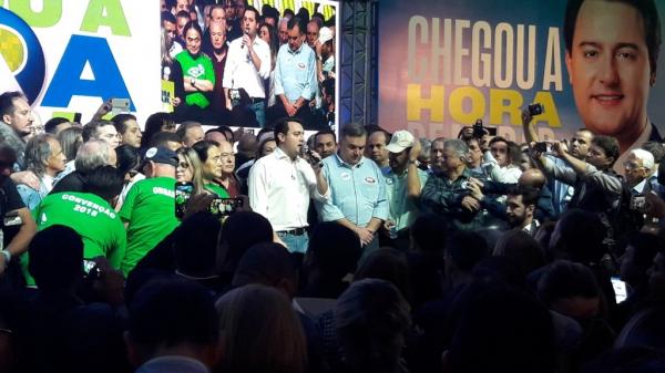 Prefeitos temem retaliação do Palácio Iguaçu por terem ido a convenção de Ratinho Junior