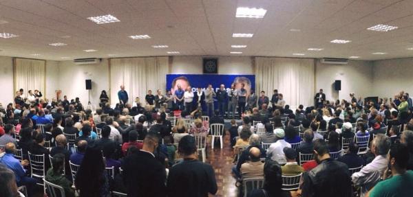 Osmar Dias turbina número de participantes em evento em São José dos Pinhais