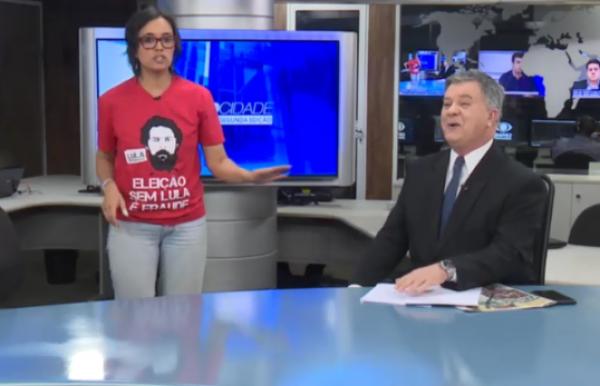 Na Band, candidata do PCO protagoniza primeiro meme da eleição no Paraná
