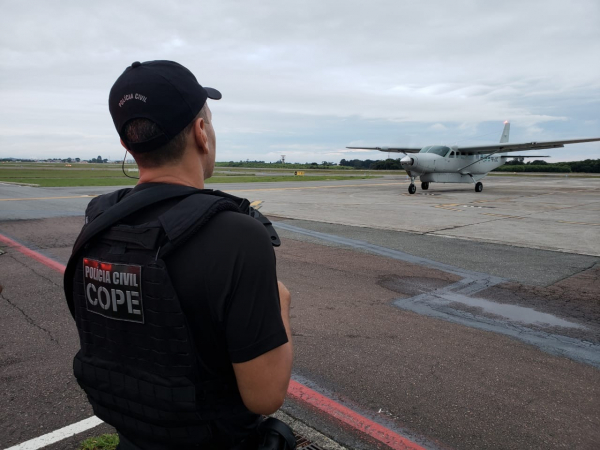 Presos da Operação Raptus são removidos para presídio de segurança máxima