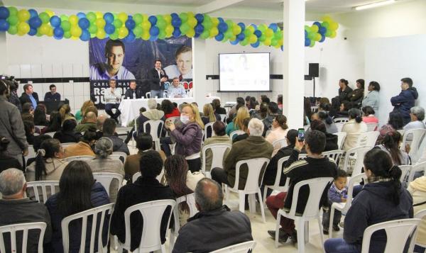 No Tatuquara, Ratinho Junior fala como vai melhorar a segurança pública