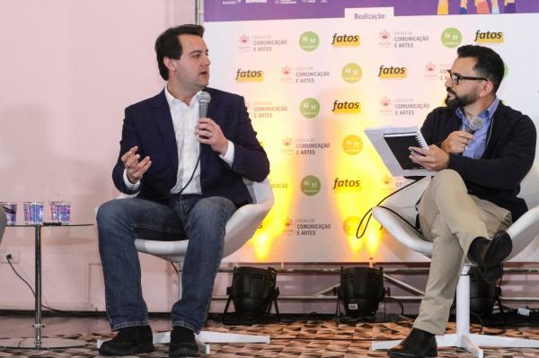 Ratinho Junior fala que jovens precisam sentir orgulho de viver no Brasil