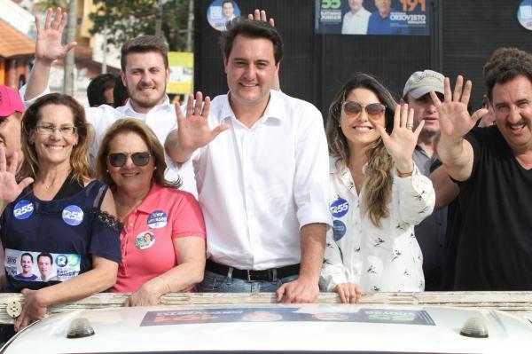 Mobilização para Ratinho Junior vencer no primeiro turno