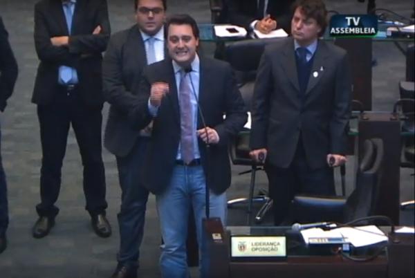 Ratinho Junior critica veto do governo e firma posição contra Cida na Assembleia