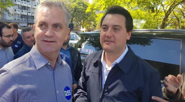 Apoio de Ulisses Maia a Ratinho Junior esfria a relação entre PDT e MDB