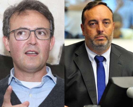 João Guilherme (Novo) e Francischini (PSL): batalha antecipada