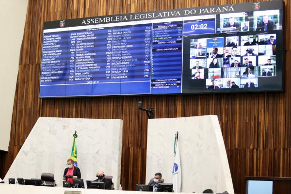 Assembleia: governo encaminhou emenda propondo congelamento em julho