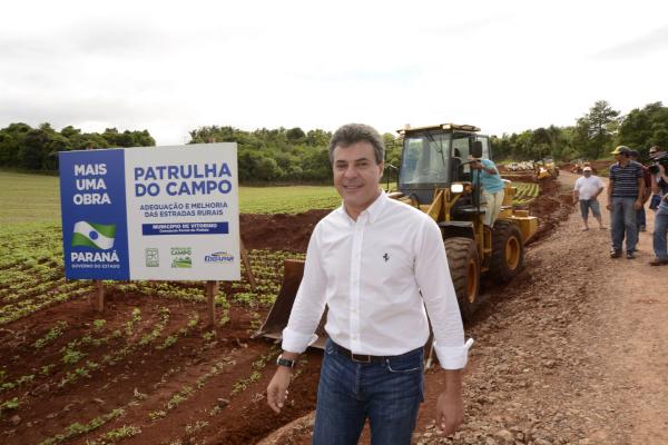 Beto Richa: ex-governador chegou a ser preso sob a acusação de envolvimento no esquema investigado pelo Gaeco