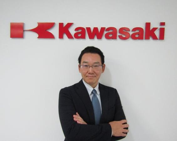 Naoki Kawaguchi, novo presidente da Kawasaki Motores do Brasil