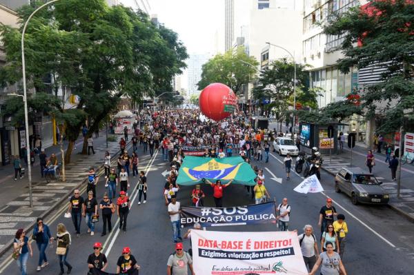 Servidores em greve: FES deve ter nova reunião com governo na tarde de hoje