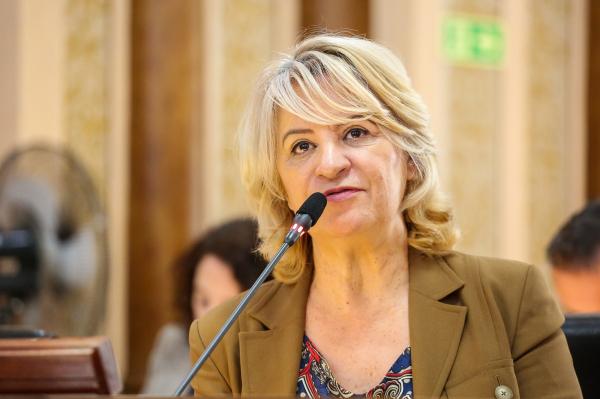 Noêmia Rocha (MDB): líder da oposição está internada no hospital Vita Linha Verde