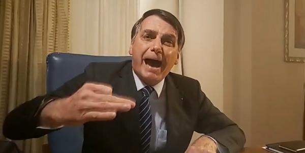 Bolsonaro: presidente reagiu à carta de diretor de jornalismo da emissora, que elogiou reportagem sobre caso Marielle