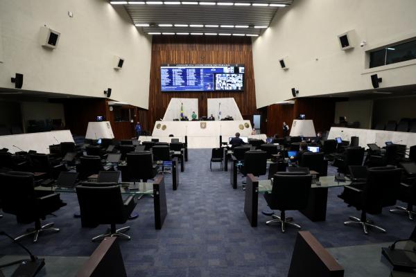 Assembleia: sessões presenciais estão suspensas desde março deste ano por causa da pandemia