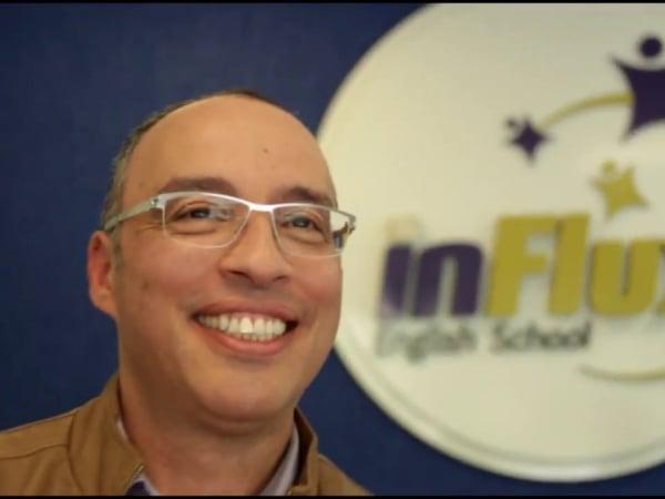 Ricardo Leal, CEO da inFlux English School