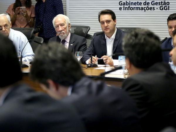 Ratinho Jr: governador informou que todas as etapas da sua viagem serão pagas por ele, sem qualquer ônus para o Estado