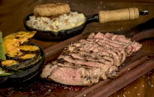 Serão servidos vários cortes de carne no festival