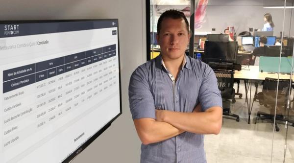 Alan Correia, especialista em TI, decidiu por empreender com 21 anos de idade