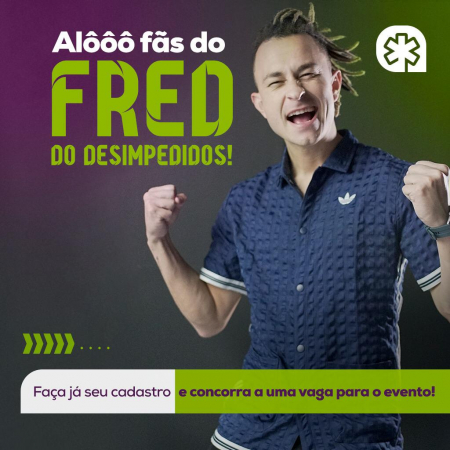 "Digital influencer Fred do ""Desimpedidos"" visita o Colégio Amplação"