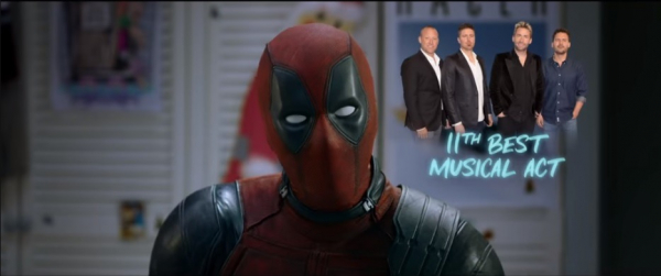 Deadpool, o fã de Nickelback