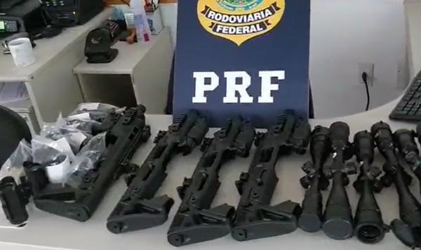 Kits que transformam pistolas em metralhadoras são apreendidos na Grande Curitiba