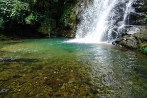 Cachoeira secreta terá visita guiada pela primeira vez