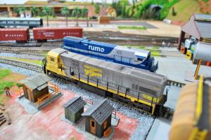 Mostra de Ferreomodelismo promete reunir apaixonados por trem de Curitiba
