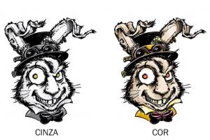 Você tatuaria um coelho invocado por R$ 1 mil em cervejas artesanais? Bar de Curitiba faz desafio