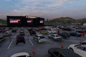 Grande Curitiba ganha o maior drive-in de entretenimento do Brasil com espaço para 400 carros
