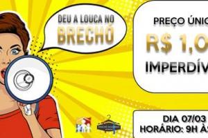 Com tudo a R$ 1,´Deu a Louca no Brechó´ acontece no próximo sábado em Curitiba
