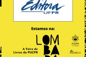 Editora UFPR oferece catálogo com 40% de desconto pela feira de livros Lombada até 31/10