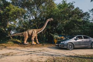 Jurassic Safari Experiencechega em agosto aCuritibacom aventura inesquecível para toda a família