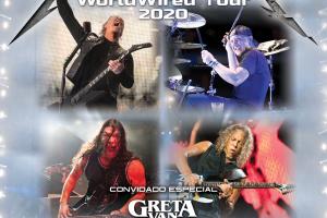Conhecer pessoalmente o Metallica em Curitiba vai custar R$ 9.900