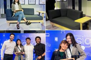 Estudante de Design de Produto da UFPR assina projeto do Sofá Lote, vencedor do Prêmio Tok&Stok; de Design