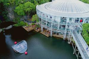 Vale da Música na Ópera de Arame inaugura ciclo de exposições de fotografia, arte digital e arte urbana