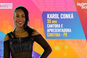 Karol Conká e mais 19 iniciam hoje o 'BBB 21'