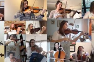 Orquestra formada exclusivamente por mulheres de Curitiba lança vídeo gravado em casa