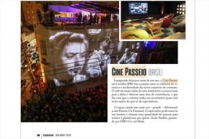 Cine Passeio é considerado um dos 20 cinemas mais legais do mundo