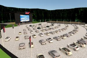 Pedreira Paulo Leminski vai virar arena de entretenimento no modelo drive-in