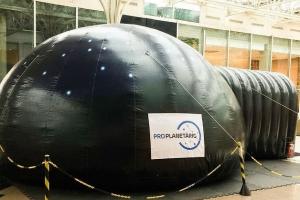 Planetário é atração do fim de semana em Curitiba. Saiba todos os detalhes