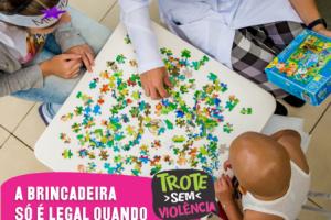 """UFPR divulga campanha """"Trote sem violência""""e canais de denúncias"""