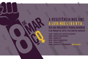 Confira o Guia da 8M: a Marcha das Mulheres de Curitiba e Região Metropolitana