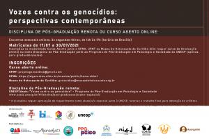 Museu do Holocausto, em Curitiba, desenvolve ações para discutir genocídios indígena e quilombola