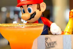 Mario e Luigi transformam a Cooldown no Reino Cogumelo durante a Semana Nintendo