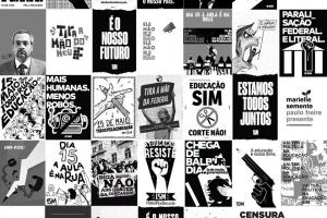 Design Ativista disponibiliza cartazes para imprimir e usar na greve nacional da Educação