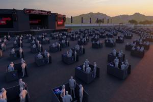 Maior espaço de shows com distanciamento social do Brasil inaugura neste sábado em Pinhais