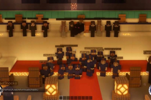Estudantes de Ciência da Computação fazem cerimônia de colação de grau no game Minecraft