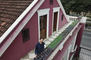 Agricultura urbana para deixar a Curitiba cinzenta mais verde