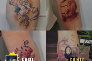 Curitiba recebe a primeira edição do Comic Ink evento de tatuagem e cultura geek