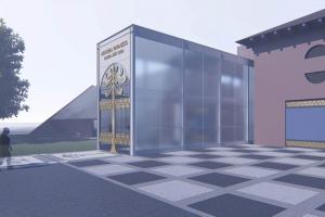 Veja como vai ficar o novo teatro e o Centro de Criatividade no Parque São Lourenço