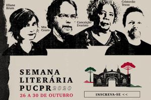 PUCPR promove 1ª Semana Literária totalmente online. Veja programação